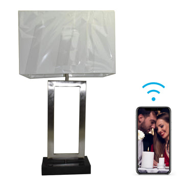 4K Lamp Hidden Wi-Fi Camera