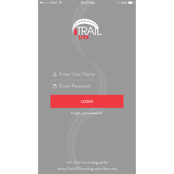 iTrail Solo Personal GPS Tracker