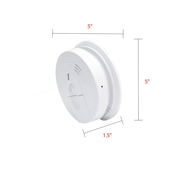 1080p Smoke Detector Hidden Camera - FlexiSPY Spy Shop