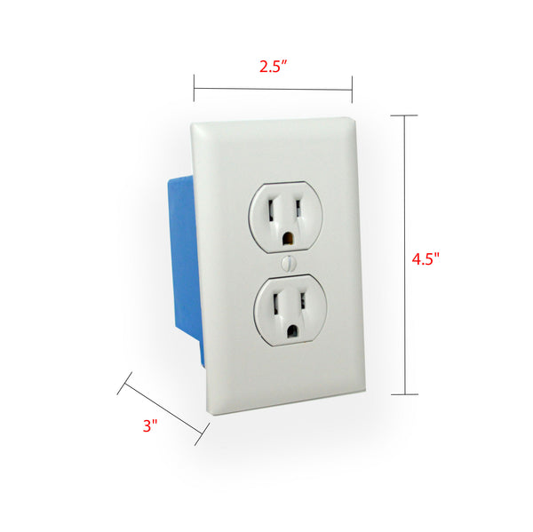 1080p Wall Outlet Hidden Wi-Fi Camera