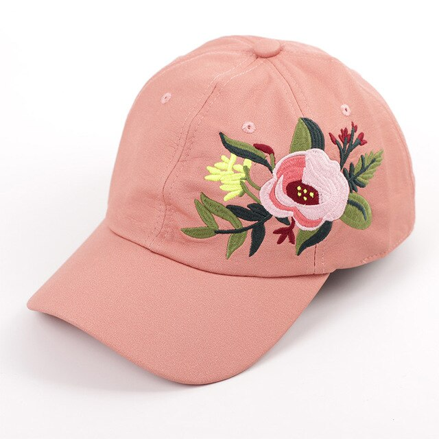 Faux Leather, Embroidered Baseball Cap - daretowearyourhair
