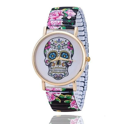 Image of Emilia Sugar Skull Womens Watch