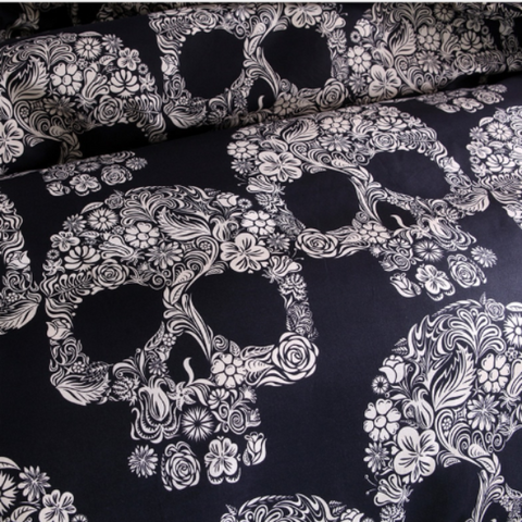 Image of Cooper Skull Bedding Set