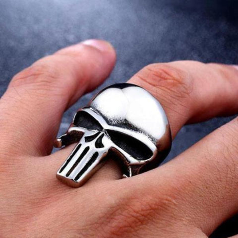 Image of Rory Punisher Skull Ring