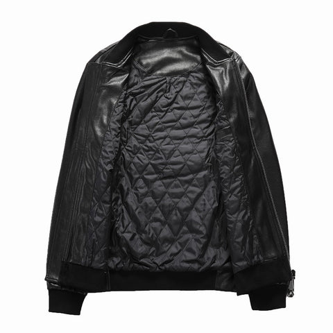 Laban PU Skull Jacket
