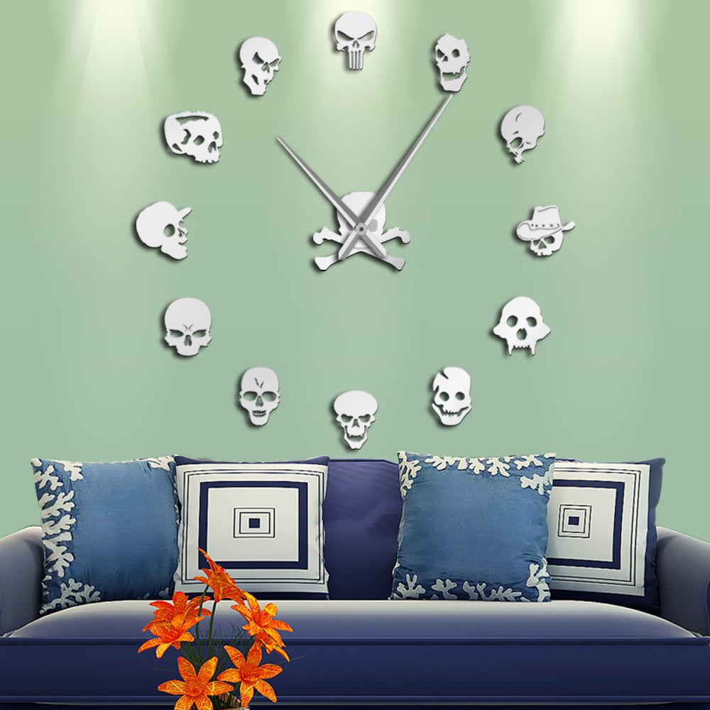 Artemis  Giant Skull Wall Clock