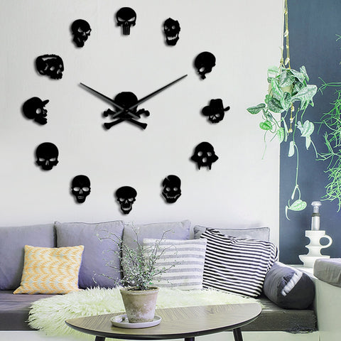 Image of Artemis  Giant Skull Wall Clock