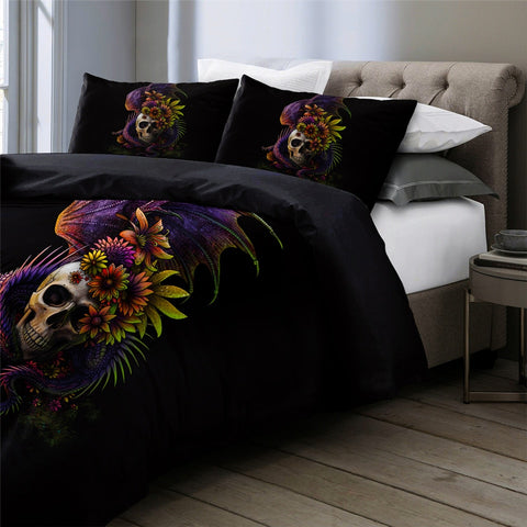 Natrix Dragon Skull Bedding Set