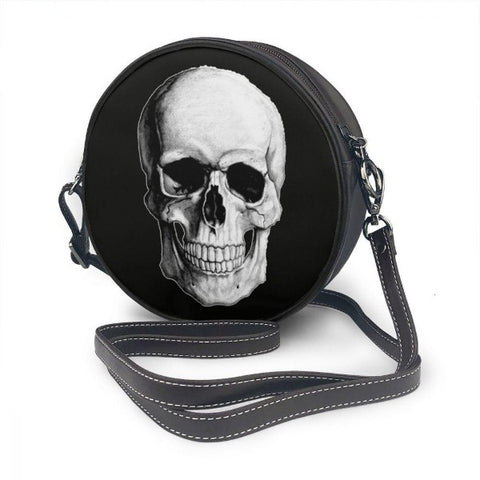 Image of Cory Skull Round Shoulder Bag