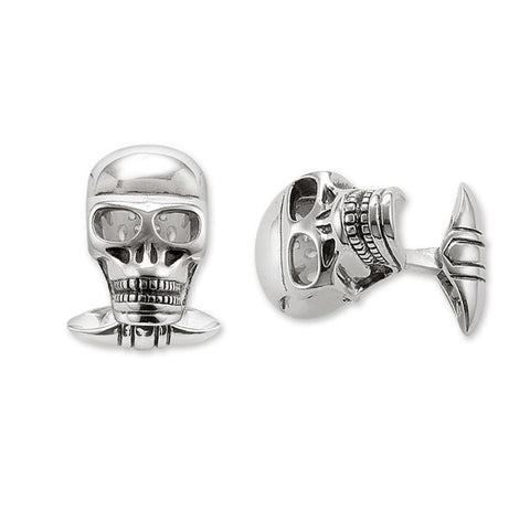 Image of Dryden Skull Cuff Links