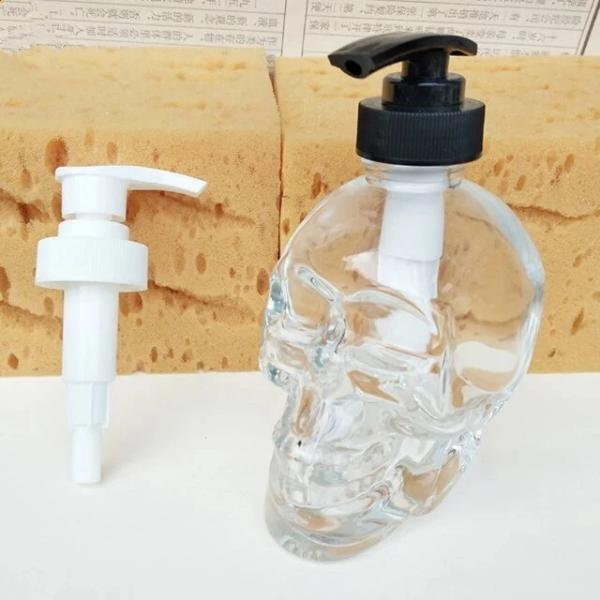 Adin Skull Soap DIspenser