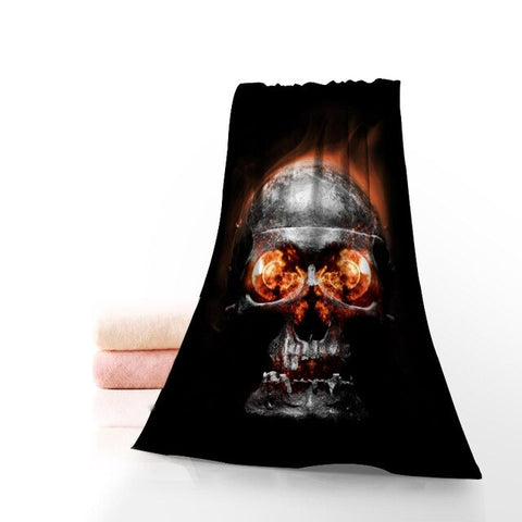Image of Kaleo Printed Skull Towel