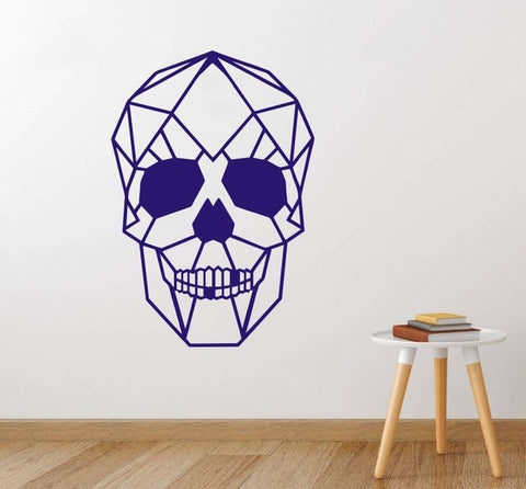 Image of Asher Skull Head Wall Sticker