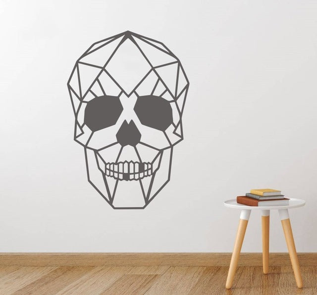 Asher Skull Head Wall Sticker