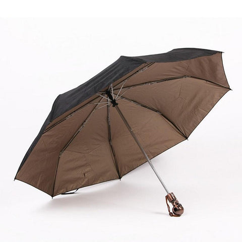 Image of Ranger Skull Handle Umbrella