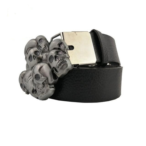 Image of Malin Mens Skull Head Belt