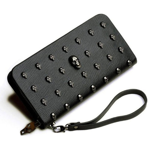 Image of Zora Skull Wallet