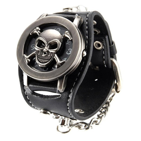 Image of Micah Skull Chain Watch