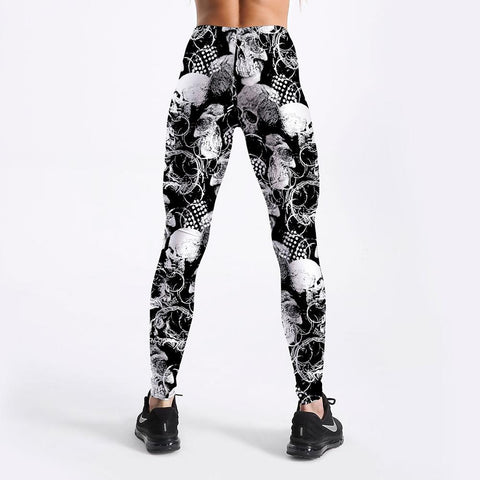 Image of Angel Skull Leggings