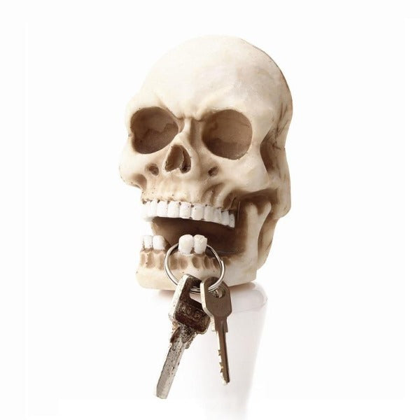 Bruno Resin Skull Wall Holder
