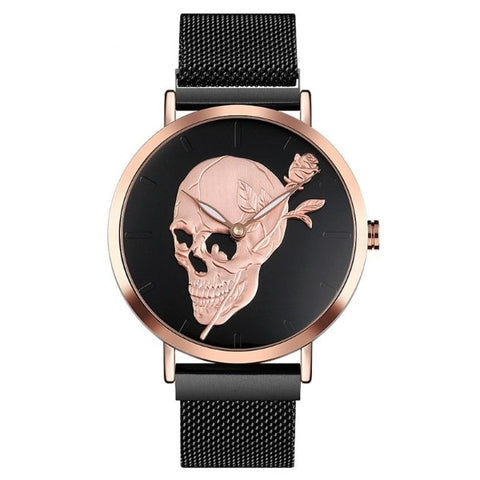 Jessie Skull Quartz Watch