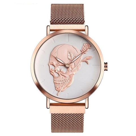 Image of Jessie Skull Quartz Watch