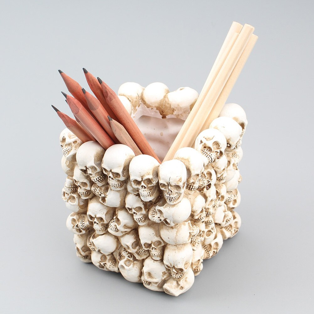 Ryder Resin Skull Storage Box