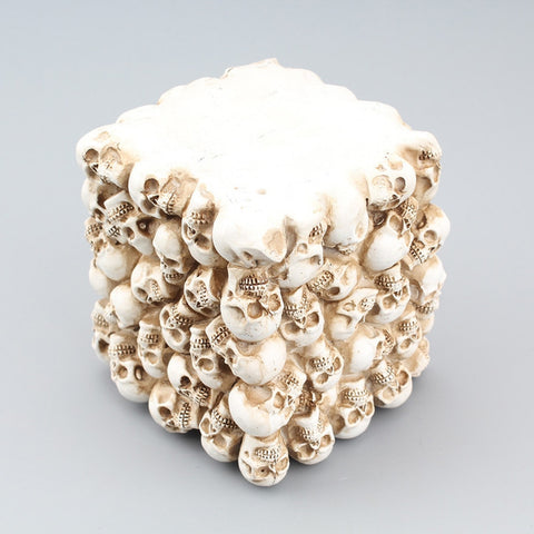 Image of Ryder Resin Skull Storage Box