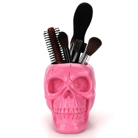 Image of Talia Pink Skull Container
