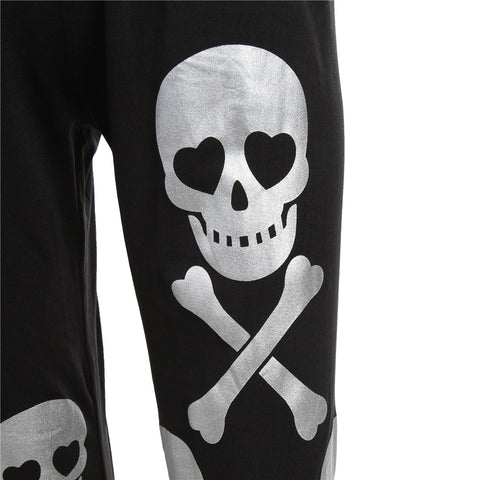 Image of Kenzie Womens Skull Track Pants