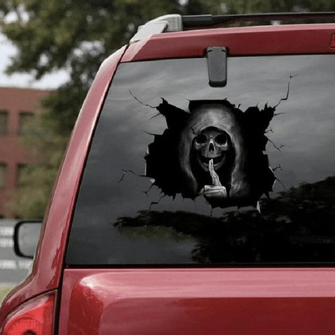 Cobi Skull Car Sticker