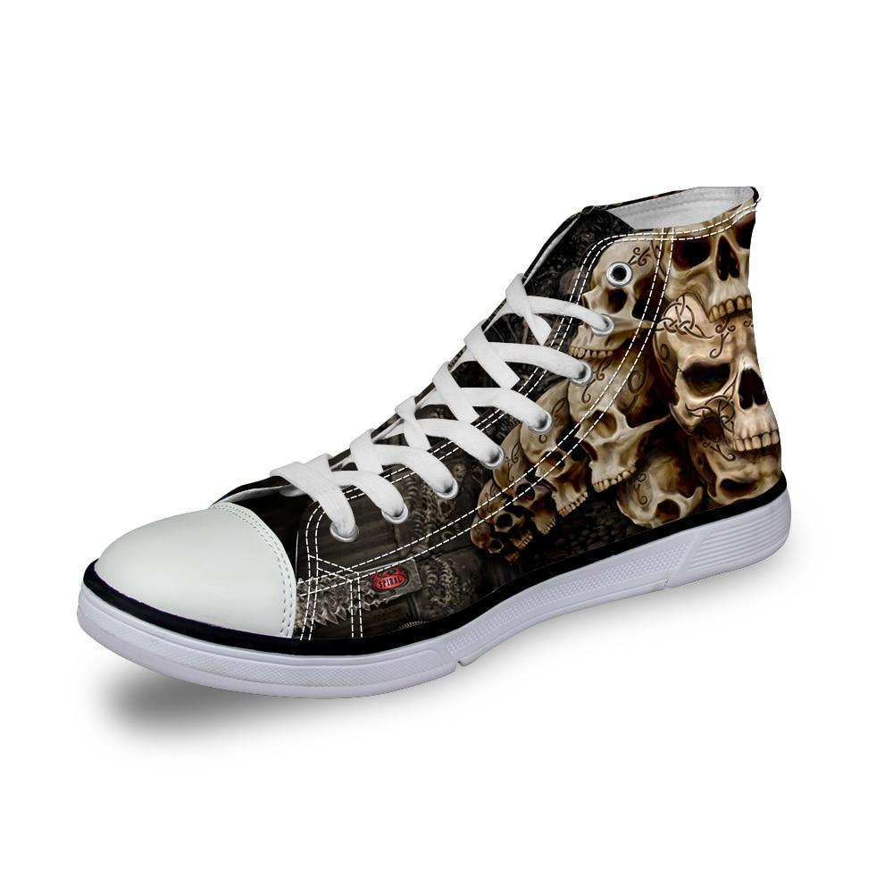 Levi High Top Canvas Sneakers