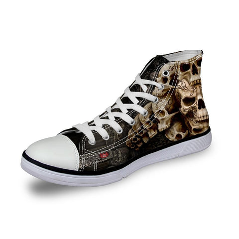 Image of Levi High Top Canvas Sneakers