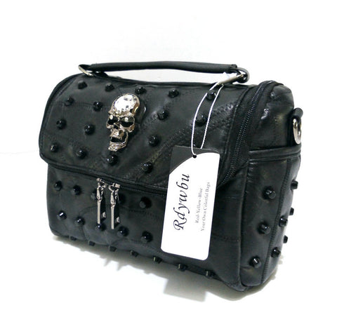 Image of Leah Dome Skull Handbag
