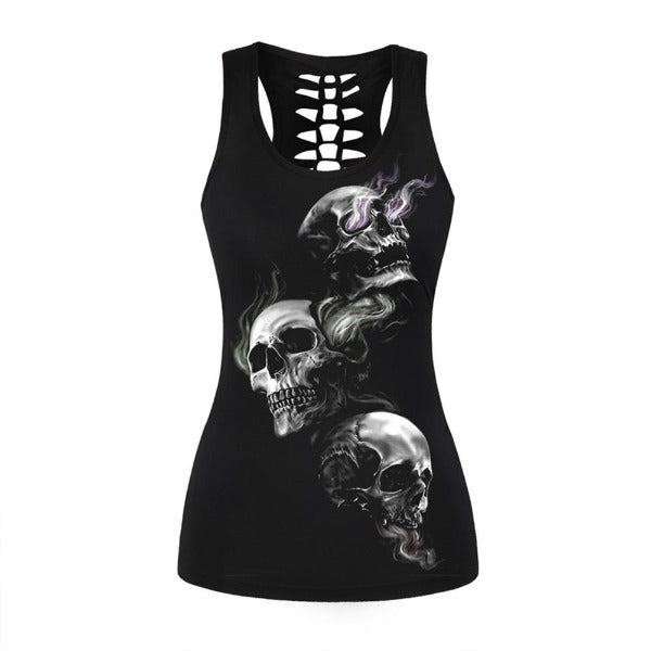 Emory Backless Skull Tank
