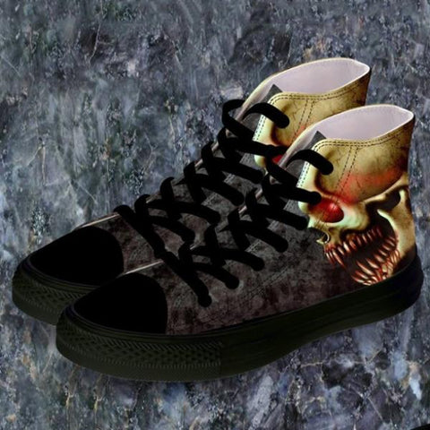 Image of Hank Skull Sneakers