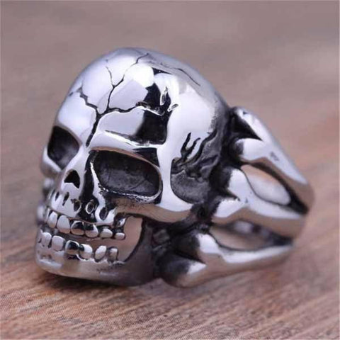 Pete Skull Mens Ring