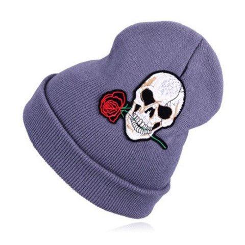 Image of Jada Rose Skull Beanie