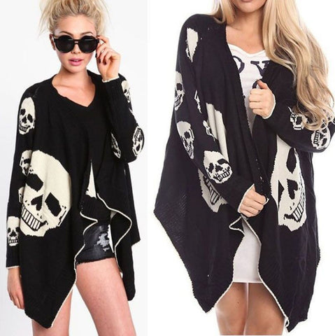 Image of India Skull Cardigan