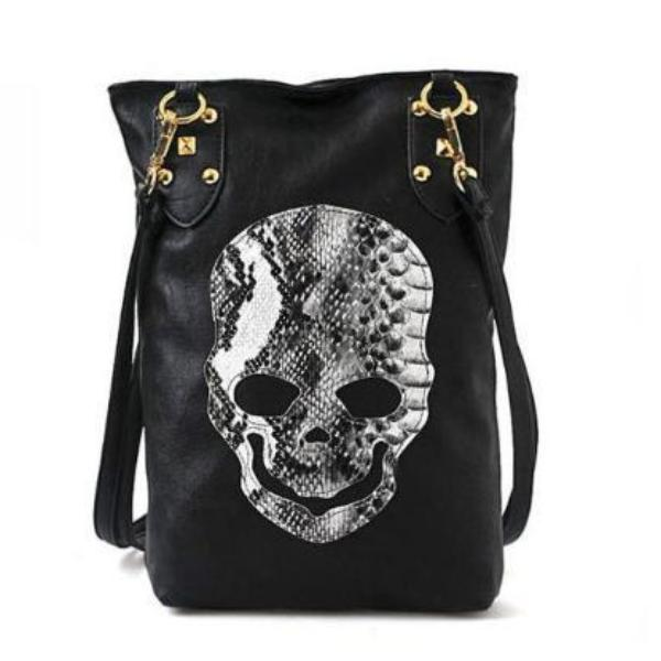 Marley Skull Face Shoulder Bag