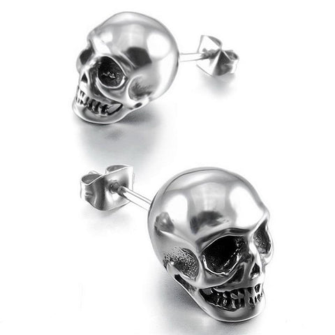 Tobin Punk Skull Earrings