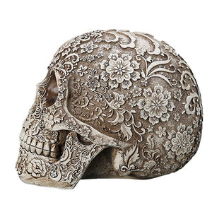 Jett Skull Ornament