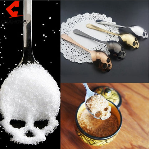 Image of Eli Novelty Skull Spoon