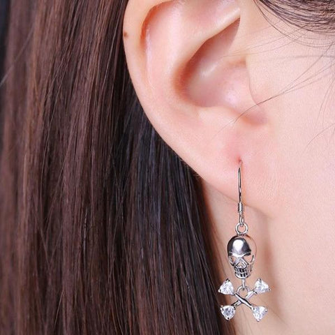 Image of Zora Sterling Silver Earrings