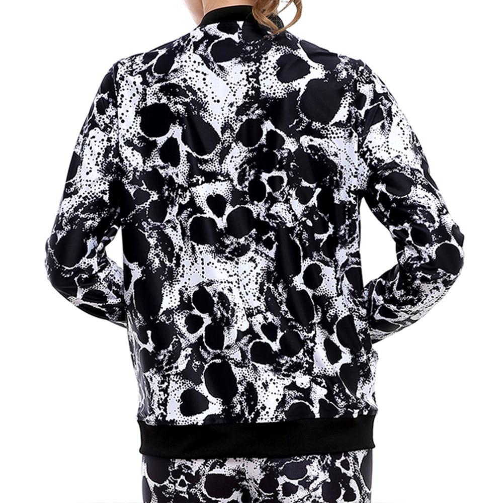 Luna Womens Skull Jacket