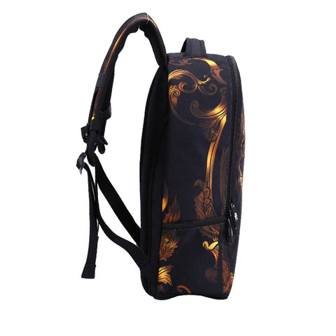 Image of Zayden 3D Skull Backpack