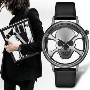 Andrea Womens Skull Watch