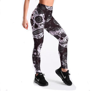 Yolanthe Fashion Skull Leggings
