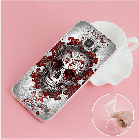 Image of Blade Skull Phone Case