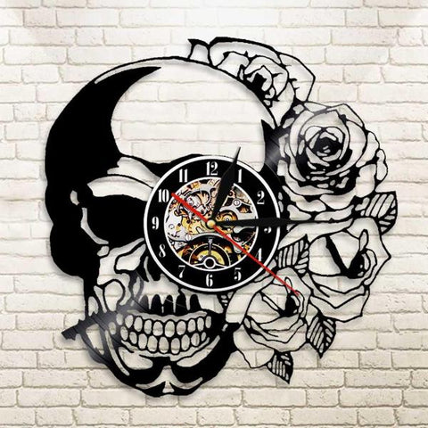 Image of Zander Fashion Skull Clock